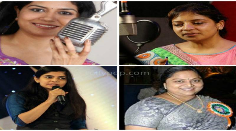 Female dubbing artists