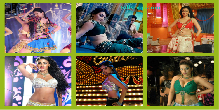 Telugu Actress item songs