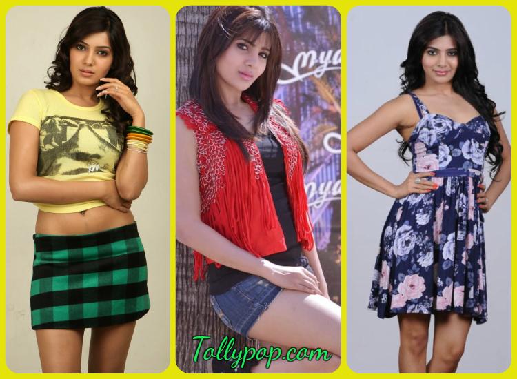 Samantha Wearing Different Dresses