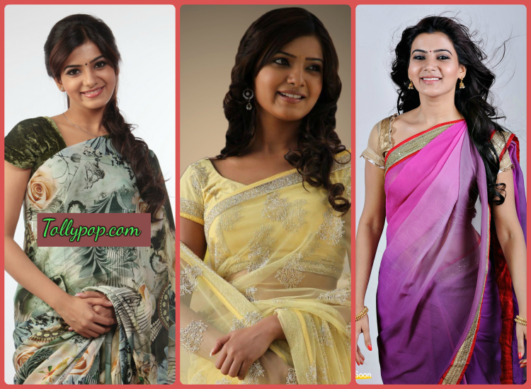 Samantha Wearing Different Dresses