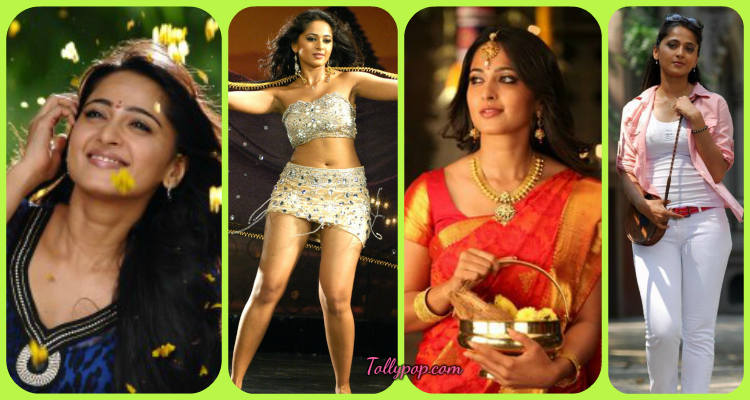 Anushka Wearing Different outfit