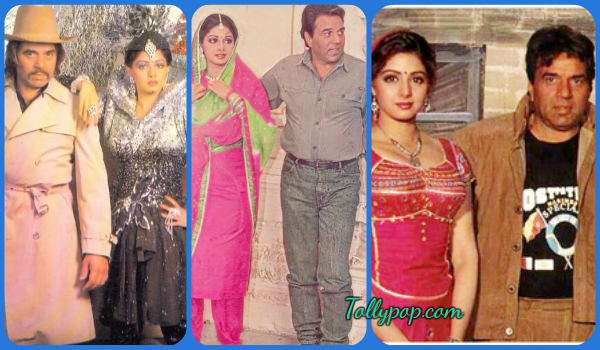 Sridevi romanced father and son on-screen